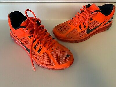 buy online f1e69 fc17a Nike Air Max 2013 554886-301 Red Orange Size 11