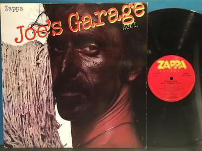 Frank Zappa Joes Garage Act I~1~Orig 1979 Lp~Mothers~Bozzio~Catholic Girls