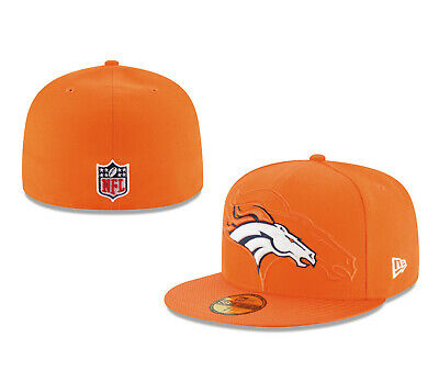 the best attitude a04e8 b78ab NFL New Era 59FIFTY 5950 DENVER BRONCOS ON FIELD SIDELINE 16 Fitted BallCap  Hat