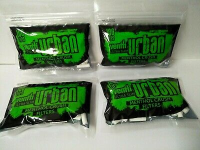 Venti Urban Ultra Slim Menthol Crush Filter Capsule 4x100 Tips