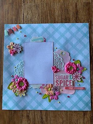 Scrapbook Page 30 x 30