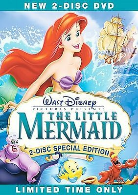 The Little Mermaid (DVD, 2006, 2-Disc Set) Free Shipping in Canada!