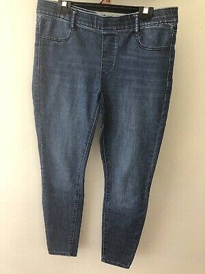 Womens Jeans Pull On Size 12