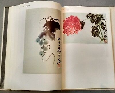 Rare 1982 Qi Baishi 齊白石 Album Chinese painting 163 reproductions in Russian
