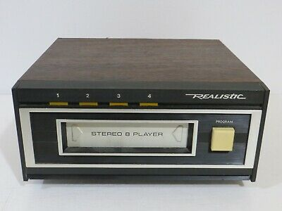 Vintage Realistic TR-169 Stereo 8-Track Play Deck
