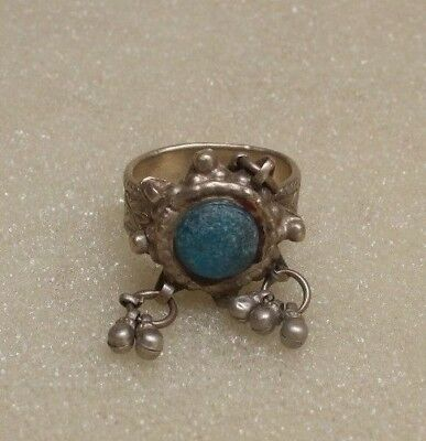 Old Vintage Hand Crafted Tribal Silver  Women / Lady Rings Collectible G 79