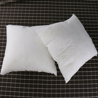 Soft 2Size Pillow Inserts Pillow Filling Cushion Core Sofa Bed Pillow White N8R3