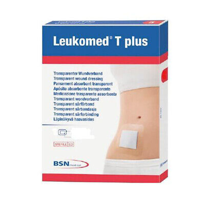 Leukomed T Plus Vapour-Permeable Adhesive Film Dressing 7.2cm x 5cm x 50