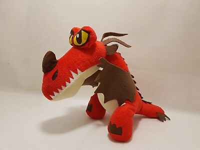 """12"""" Dreamworks How To Train Your Dragon 2 Monstrous Nightmare Plush Soft Toy"""