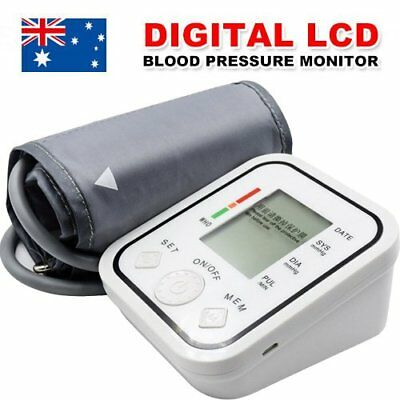 2018 New Digital Blood Pressure Monitor Upper Arm BP Machine Free Shipping H4