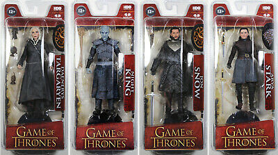 GAME OF THRONES SERIES 1 ACTION FIGURE SET ~ Jon Snow, Arya, Night King+