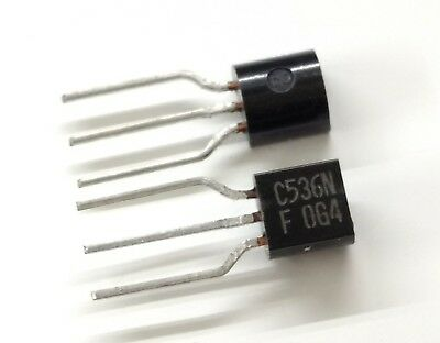 SALE x20pcs 2SC536NF TO92 NPN Transistor for synth TB-303 x0xb0x -from JP