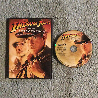 INDIANA JONES AND THE LAST CRUSADE [Widescreen] | DVD | Very Good Condition