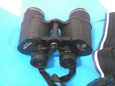Pentax 10x50 field 5.5 deg. with case