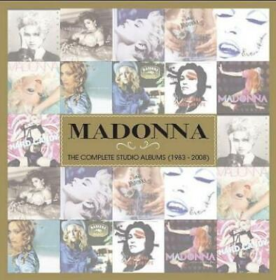 The Complete Studio Albums (1983 - 2008) Madonna UK CD album (CDLP) 8122797404