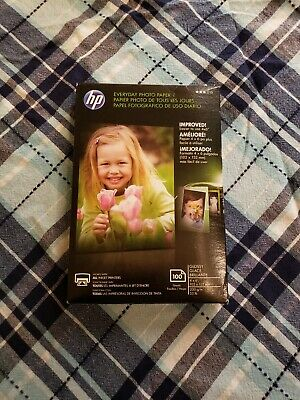 """HP CR759A Everyday Photo Paper, Glossy (4x6"""", 100 sht)"""