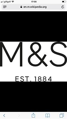 Marks And Spencers Credit Receipt £29.50