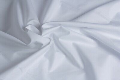 White 100% Cotton Fabric Plain Solid Colours for crafts and quilting