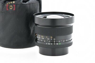 Very Good!! CONTAX Carl Zeiss Distagon 18mm f/4 T* MMJ from Japan