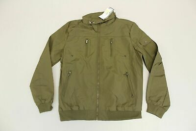 c8303b2f56bb Spire By Galaxy Men s Draft Bomber Jacket SV3 Olive Green Large NWT