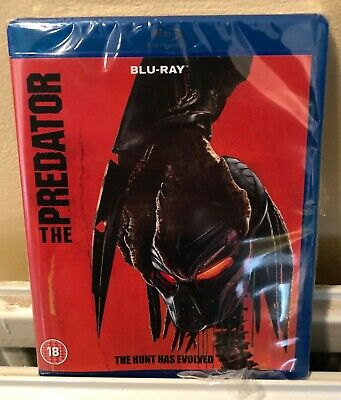 The Predator Latest Version 2018 Blu Ray Awesome New  Factory Sealed