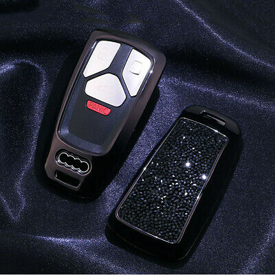 Remote Key Case Cover Fob w/ keychain For 2017 2018 2019 Audi Q5 Q7 A4 A5 TT RS