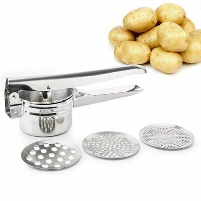 Potato Masher Stainless Steel Fruit Vegetable Ricer Press Maker Kitchen Tools