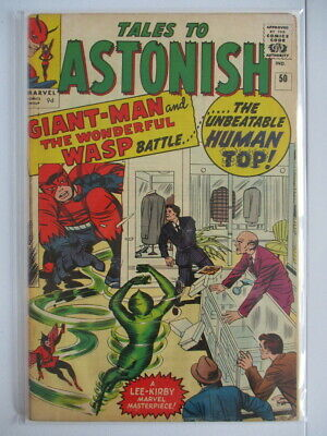 Tales to Astonish Vol. 1 (1959-1968) #50 FN+ 1st Human Top UK Price Variant