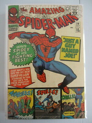 Amazing Spider-Man Vol. 1 (1963-2014) #38 VF+ UK Price Variant