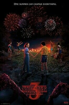 STRANGER THINGS - SEASON 3 POSTER - 22x34 - TV 17260
