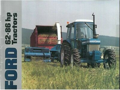 Ford Tractor 5610 6610 6710 7610 7710 Brochure
