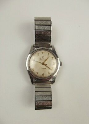 Gents Stainless Steel Cyma Navystar Wrist Watch