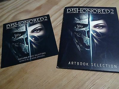 Dishonored 2  Soundtrack Selection + Artbook Selection Rare Collector