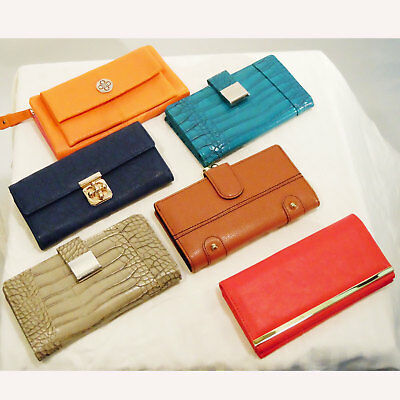 Stella & Max | A Collection of Six Wallets or Small Clutch Bags