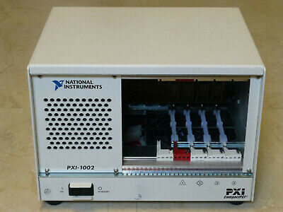 National Instruments NI PXI-1002 Chassis / 4-Slot PXI Mainframe