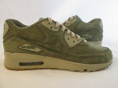 timeless design 75729 2f52e Nike Air Max 90 Winter PRM GS Medium Olive Gum 943747 200 Size 6.5 Youth  Kids