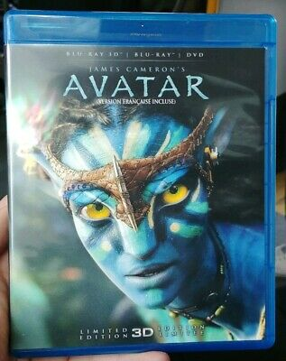 Avatar (Blu-ray/DVD, 2012, Canadian Limited Edition 3D)