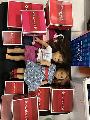 2 American Girl Dolls, Comes With tons Of Accessories! See Details