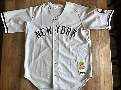 63f45620a11 Thurman Munson 1973 - 84 Authentic Mitchell & Ness NY Yankees Away Jersey  Sz 48