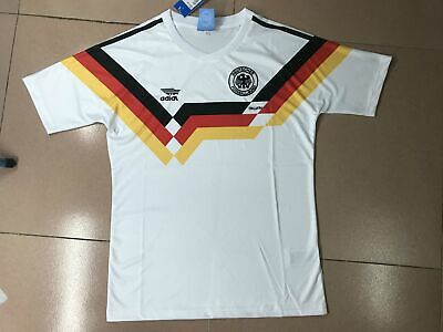 1990 Germany Retro Football Soccer Shirt Classic Vintage Jersey Home World Cup