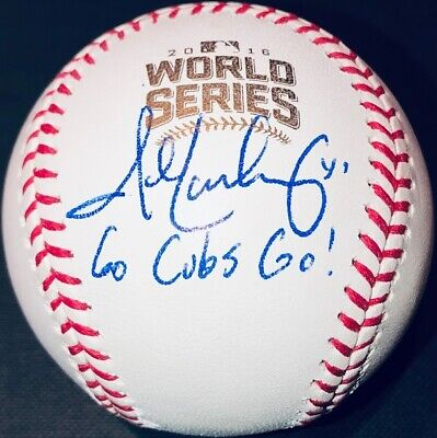 John Lackey Autographed Signed 2016 World Series Baseball Ball Beckett Bas Coa Buy One Give One Wholesale Lots Sports Mem, Cards & Fan Shop