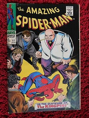 The Amazing Spider-Man #51 (Vol 1) - In The Clutches Of The Kingpin!