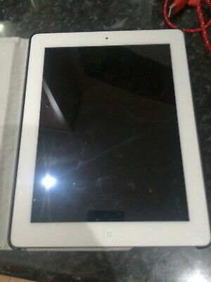 Apple iPad 2 16GB Wi-Fi White 9.7in Excellent Condition - iOS 9