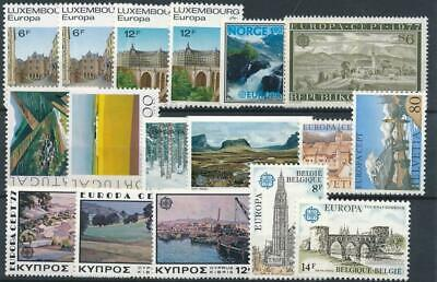 [110124] Europa good lot very fine MNH stamps