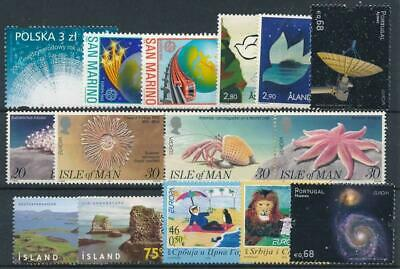 [110140] Europa good lot very fine MNH stamps