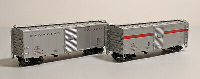 HO True Line Trains CP Express 40ft Box Cars - Set of 2 #4905 & 4907 (See Notes)