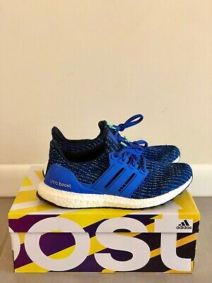 fd73dd30f ADIDAS ULTRA BOOST 4.0 Hi Resolution Blue US Size 8 Never Worn With ...