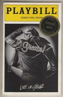 """Rosie O'Donnell   """"Grease""""  OPENING NIGHT   Playbill  OBC  1994  REVIVAL"""
