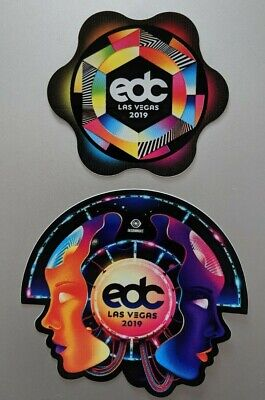 EDC Las Vegas 2019 Electric Daisy Carnival Decal Collectible Sticker Limited Ed.