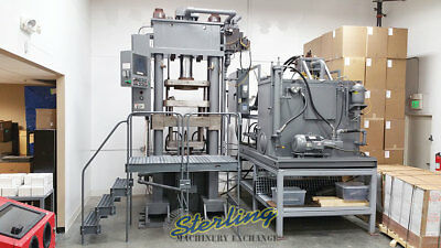 250 Ton Used Best Press Hydraulic Powder Compacting Press (Up And Down Acting) J
